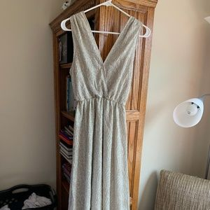Sparkly Gold Lulus Dress--Perfect for Bridesmaids